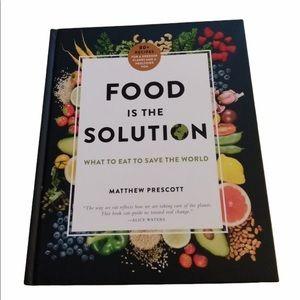 Food Is The Solution Cookbook Matthew Prescott